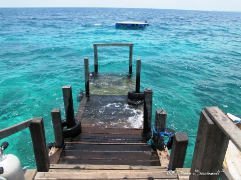 Jetty with Stairs